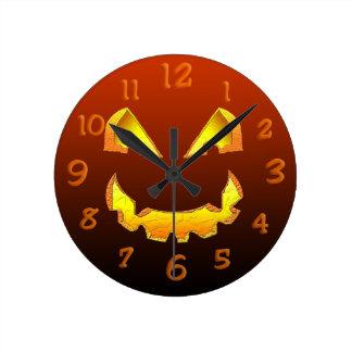 Evil Jack Round Clock
