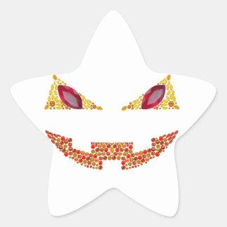 Evil Jack Star Sticker