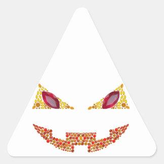 Evil Jack Triangle Sticker