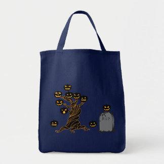 Evil Jack'O Lantern Trick or Treat Bag