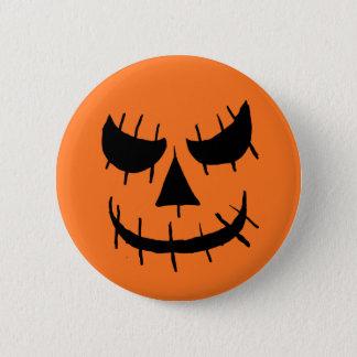 Evil jackolantern face button