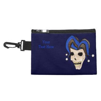 Evil Jester Skull Accessory Bags