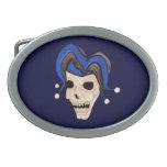 Evil Jester Skull Belt Buckles