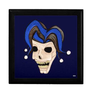 Evil Jester Skull Gift Box