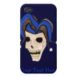 Evil Jester Skull iPhone 4/4S Case