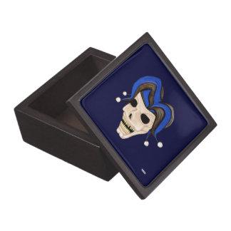 Evil Jester Skull Jewelry Box