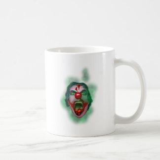 Evil Joker Clown Face Coffee Mug