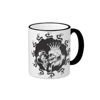 Evil King Skull Mugs