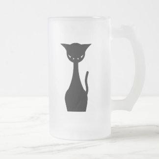 Evil Kitty Frosty Mug