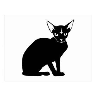 Evil Kitty Postcard