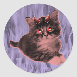 Evil Kitty Sticker