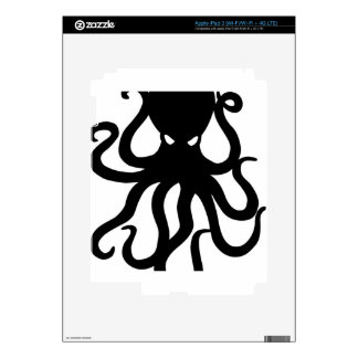 Evil kraken decals for iPad 3