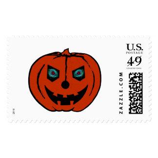 EVIL LANTERN (Halloween Jack-O-Lantern) ~ Stamp