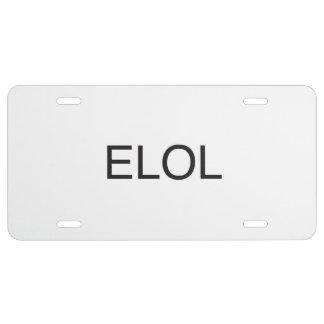 Evil Laugh Out Loud.ai License Plate