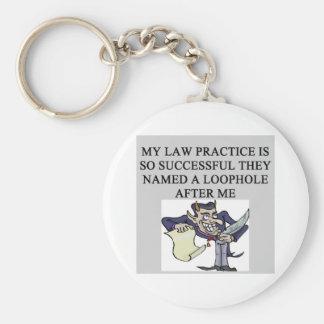 evil lawyer joke basic round button keychain
