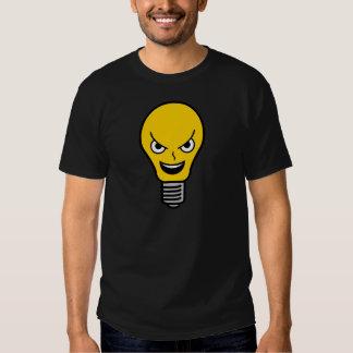 Evil Lightbulb T Shirt