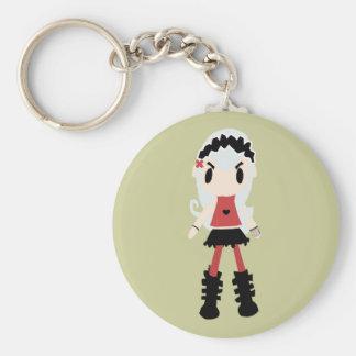 Evil Lolita Fairy Keychain