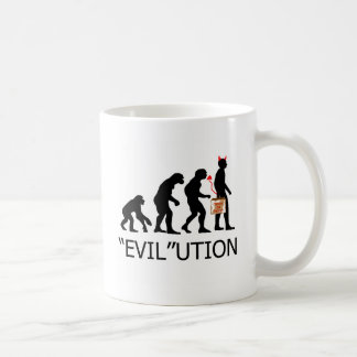 """Evil"" lution of a trick or treater Coffee Mug"