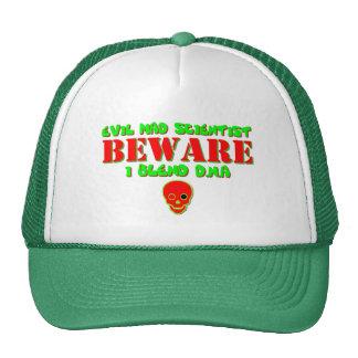 Evil Mad Scientist - I Blend DNA Trucker Hat