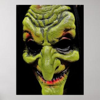 Evil Mask Poster