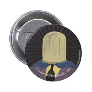 Evil Mastermind Crystal Button