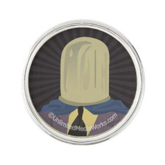 Evil Mastermind Crystal Pin
