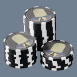 Evil Mastermind Crystal Poker Chips