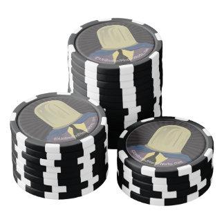 Evil Mastermind Crystal Poker Chips