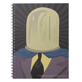 Evil Mastermind Crystal Spiral Notebook