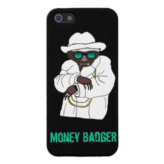 Evil Money Badger on iPhone 5 Cover For iPhone SE/5/5s