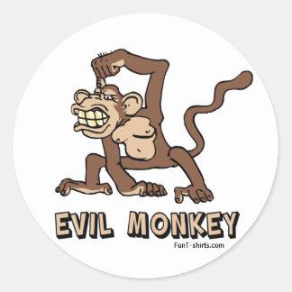 Evil Monkey stickers