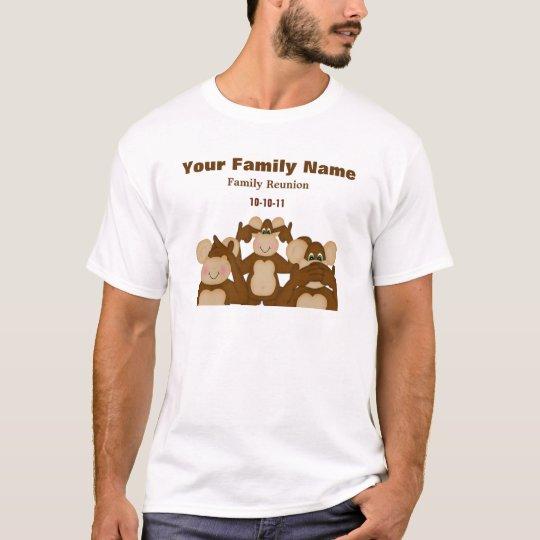 Evil Monkey's Family Reunion T-Shirt