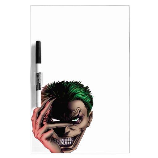 Evil Monster Face Dry-Erase Board