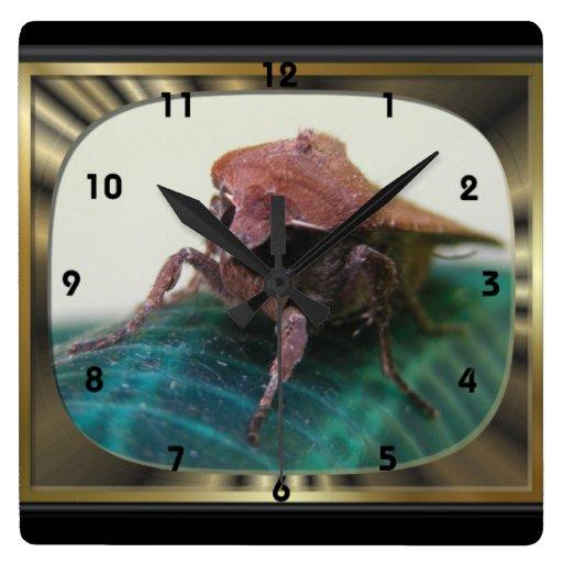 Evil Moth 2 ~ Clock