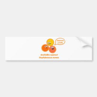 Evil MRSA Bumper Sticker