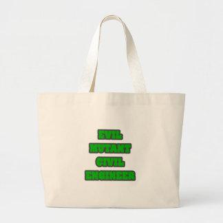 Evil Mutant Civil Engineer Tote Bag