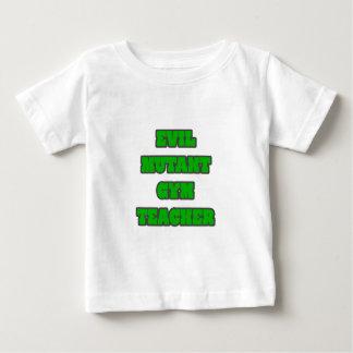 Evil Mutant Gym Teacher Baby T-Shirt