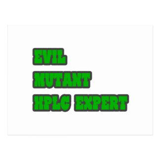 Evil Mutant HPLC Expert Post Card