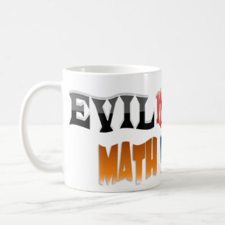 Evil mutant Math Teacher Classic White Coffee Mug