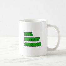 Evil Mutant Surgeon Classic White Coffee Mug