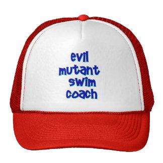 Evil Mutant Swim Coach Hats