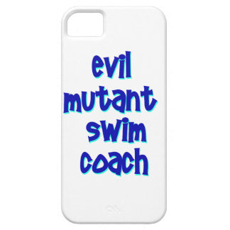 Evil Mutant Swim Coach iPhone SE/5/5s Case