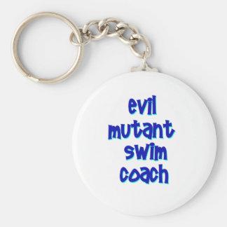 Evil Mutant Swim Coach Keychain