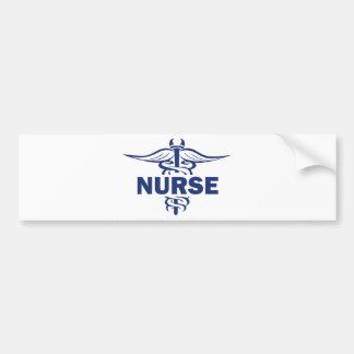 evil nurse car bumper sticker