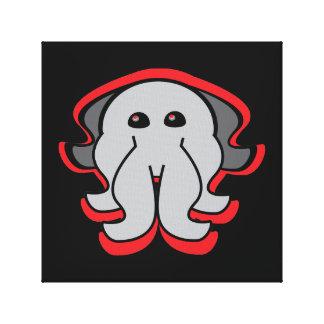 Evil Octopus Canvas Art