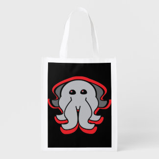 Evil Octopus Reusable Bag Grocery Bags