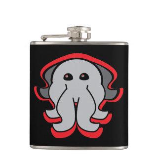 Evil Octopus Wrapped Flask