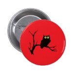 Evil owl button