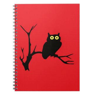 Evil owl note books