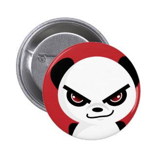 Evil Panda Badge 2 Inch Round Button